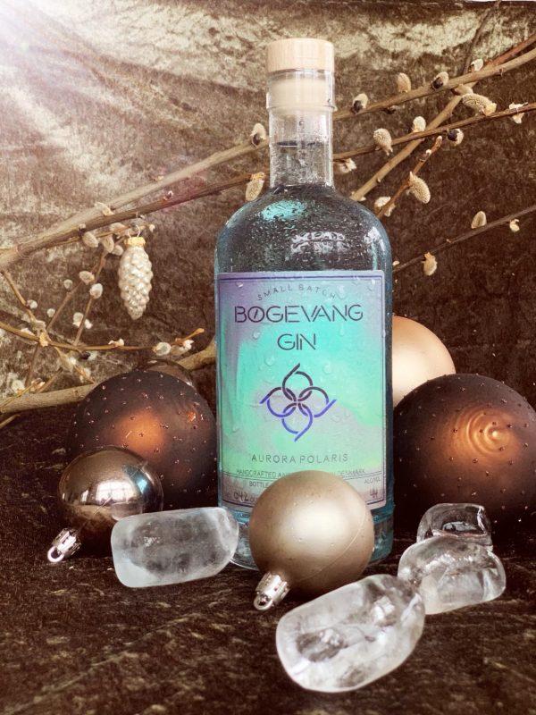 Bøgevang Gin flaske med kugler
